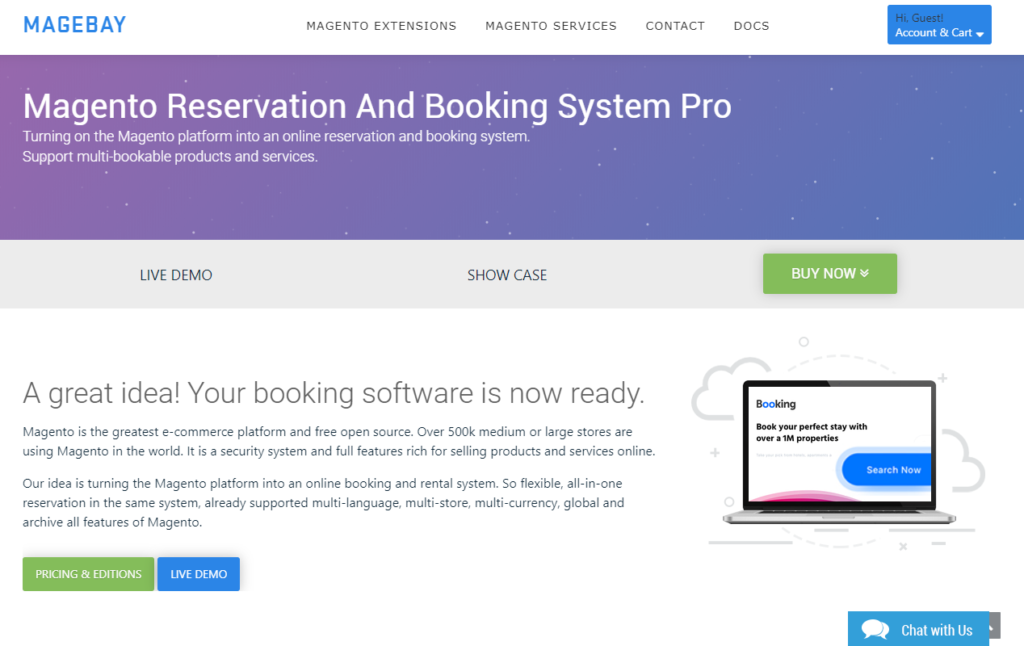 Magento Reservation and Booking System PRO by Magebay