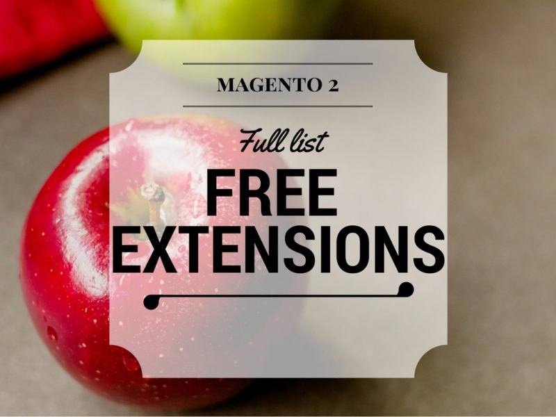 65+ Best Free Magento 2 Extension