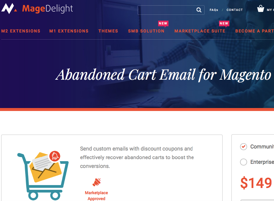 abandoned cart email for magento 2
