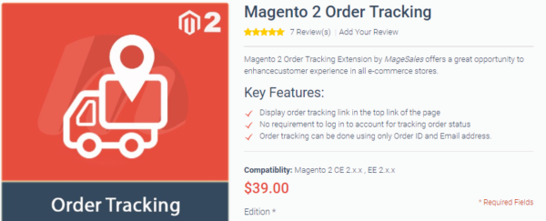 Magento 2 Order tracking extension collection