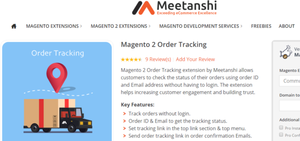 Magento 2 order tracking blog