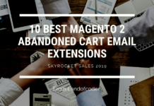 abandoned cart email extension