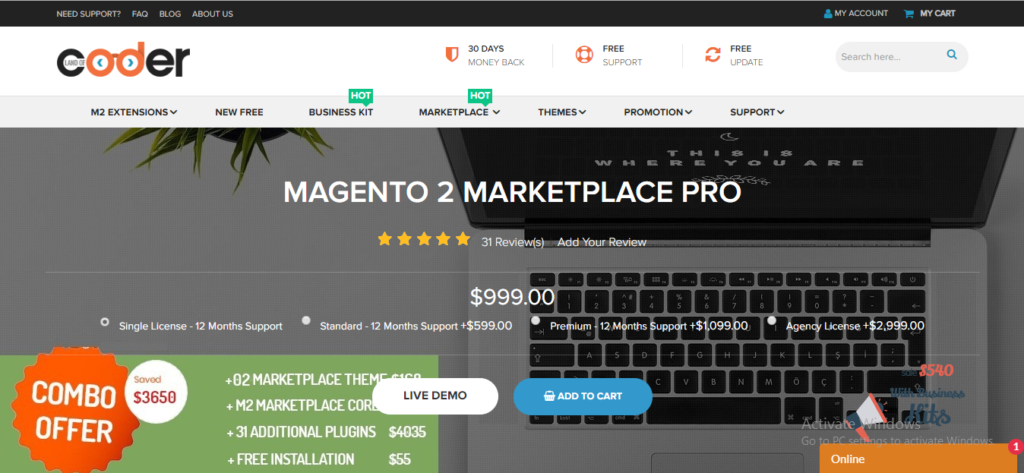 Magento 2 marketplace pro by LandofCoder