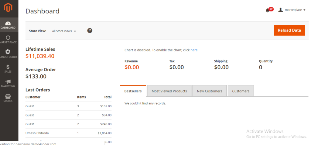 add new sellers from Magento 2 Marketplace Backend