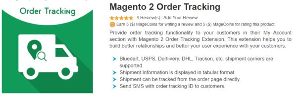 magecomp magento 2 order tracking