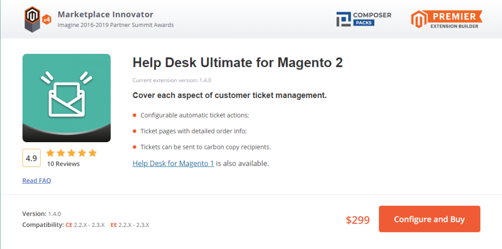 Help Desk Ultimate for Magento 2