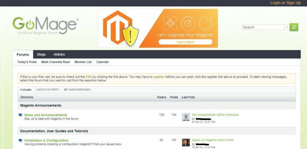Magento Developers and Experts Forum