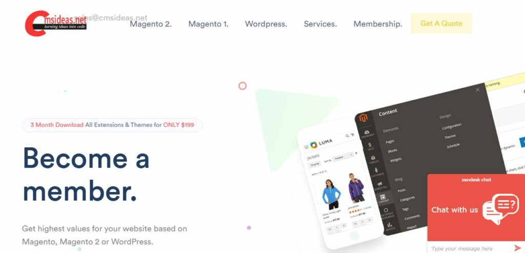 Magento Forum by cmsideas