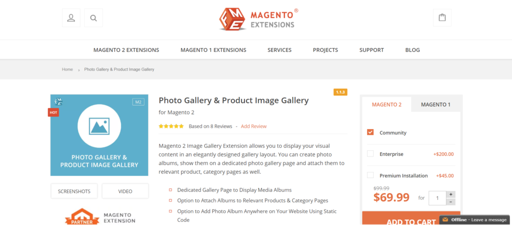FME magento 2 image gallery