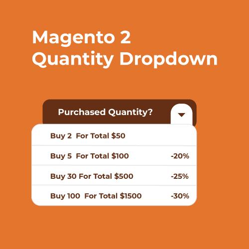 Landofcoder - Magento 2 Quantity Dropdown