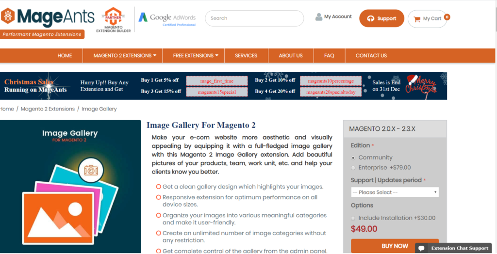 mageants magento 2 image gallery