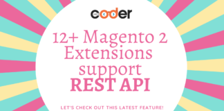 magento 2 extension support REST API