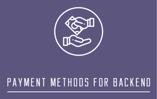 Payment Method for Backend