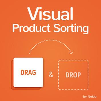 Viual Product Sorting Magento 2