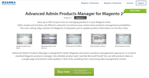 Advanced product manager