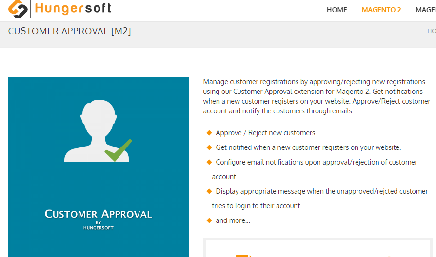 Customer Approval Magento 2