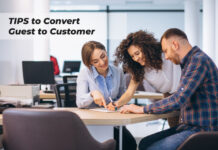 tips to convert guest to customer
