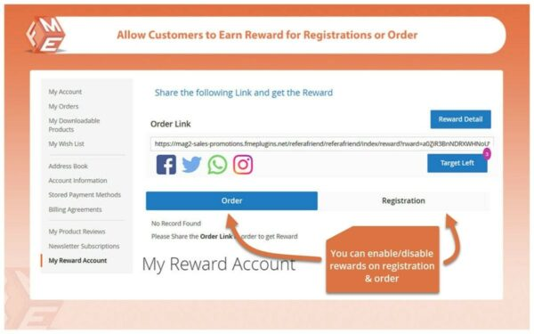 FME Magento 2 Reward Points Extension