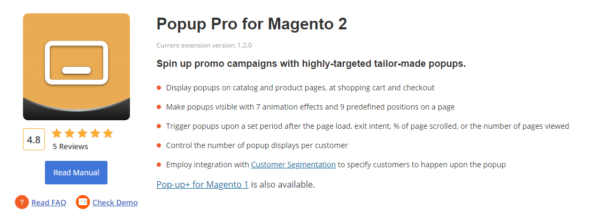 Create Pop up PRO for Magento 2