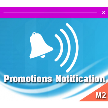 M2 notification promo