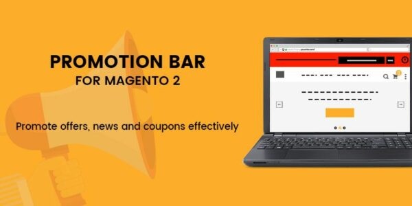promotion bar for magento 2