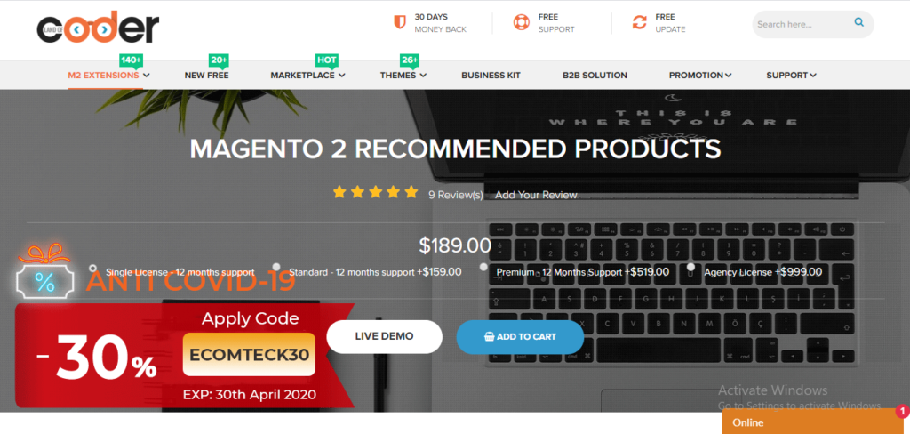 magento 2 recommended products landofcoder