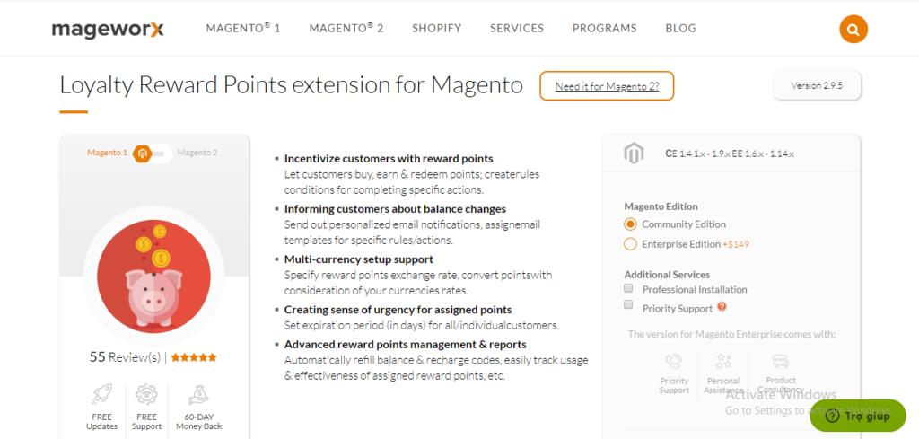mageworx-reward-points
