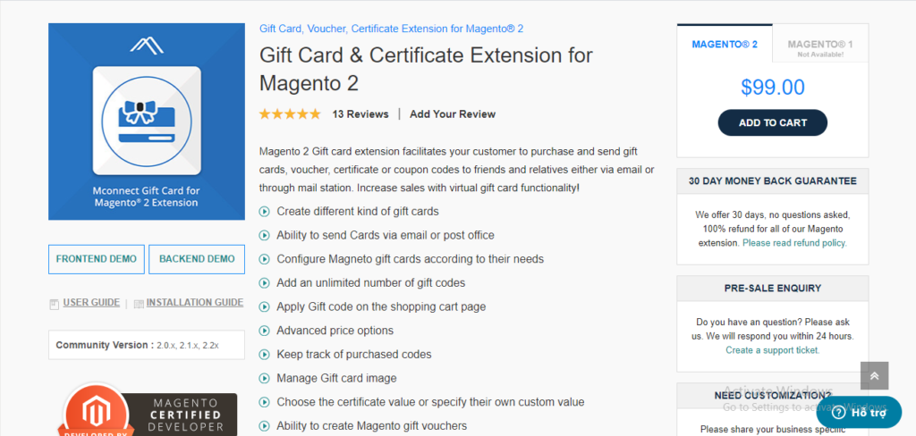 Mconnect gift card