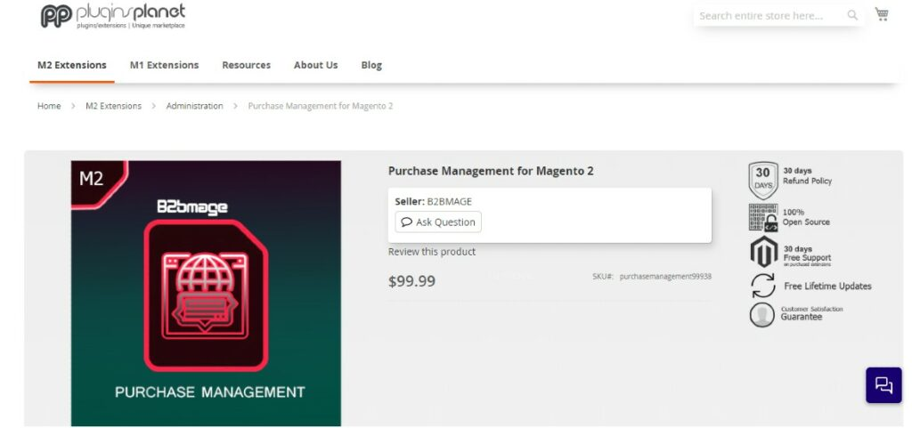 Purchase Management for Magento 2