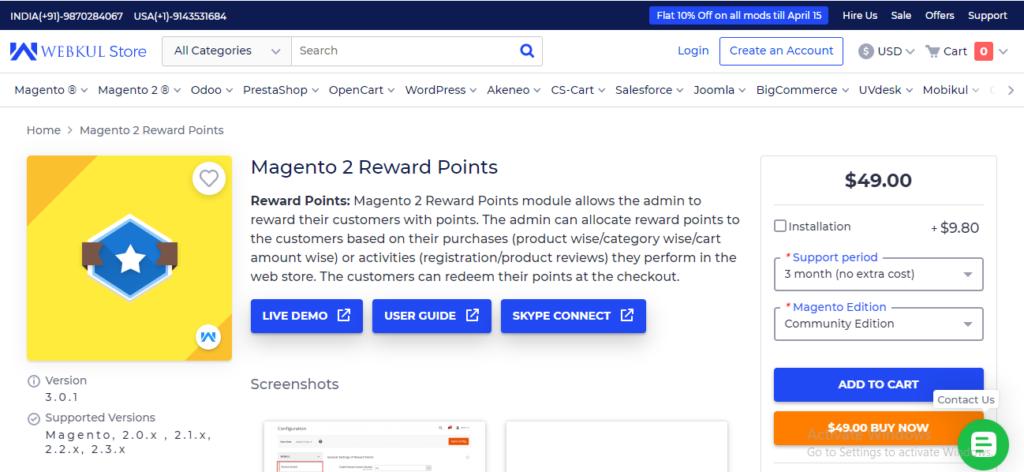 webkul-reward-points