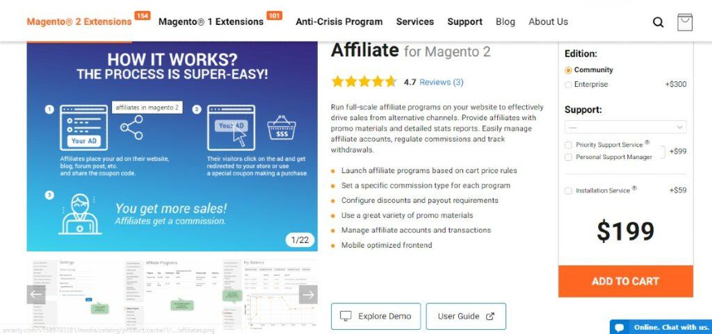 Affiliate for Magento 2 | Amasty