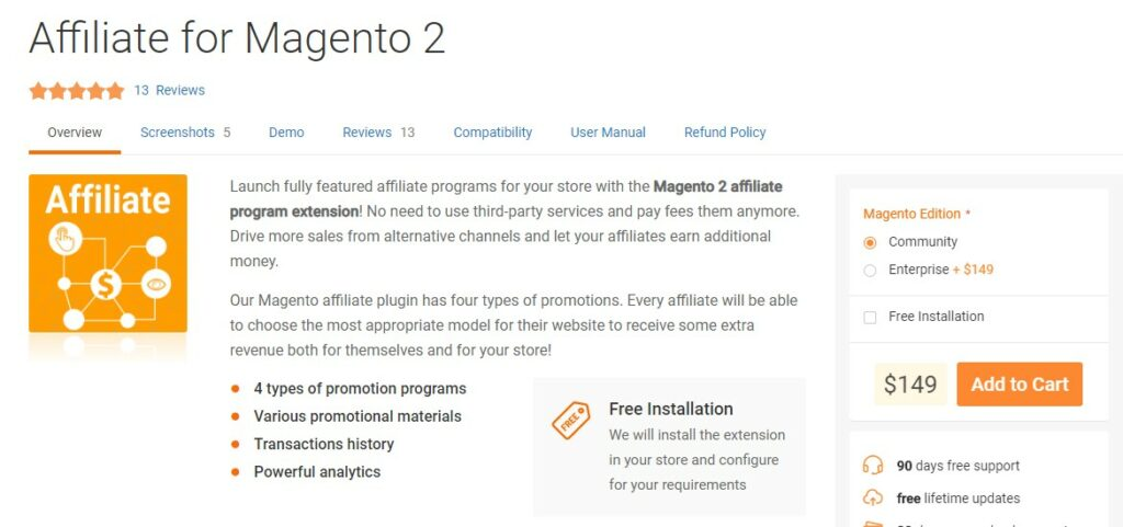 Affiliate for Magento 2 | Mirasvit