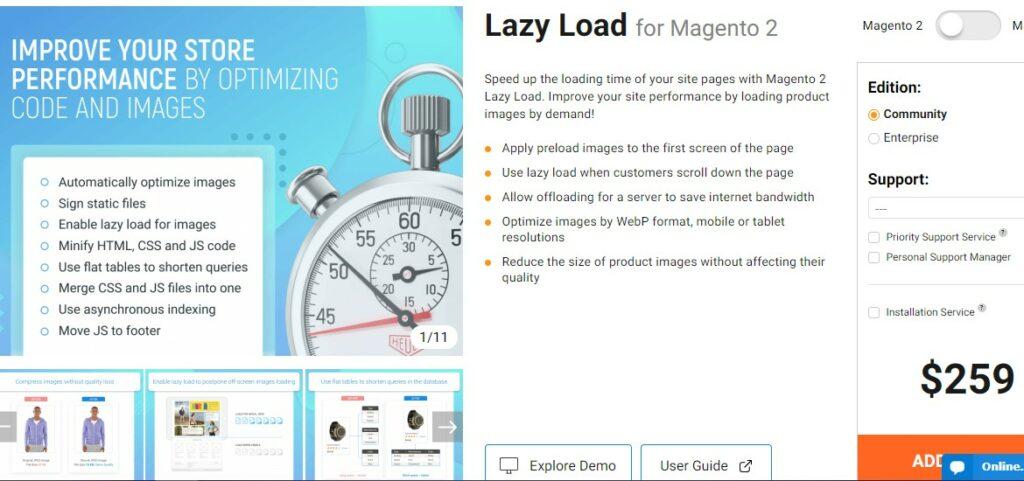 Lazy Load for Magento 2 | Amasty