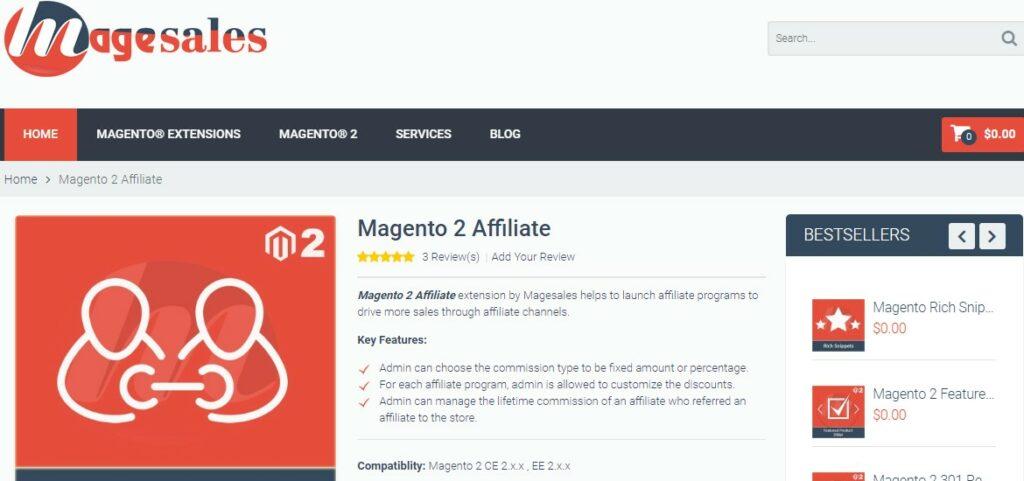 Magento 2 Affiliate |Magesales