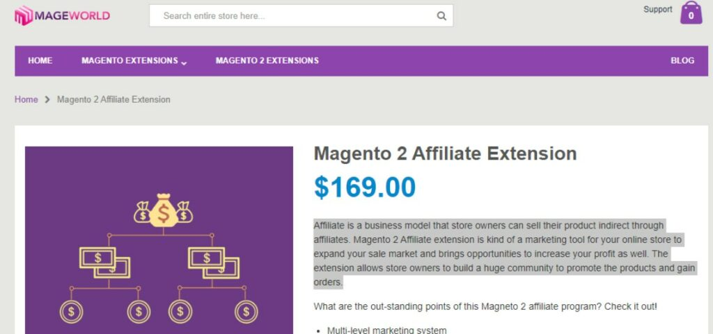 Magento 2 Affiliate Extension | Mageworld