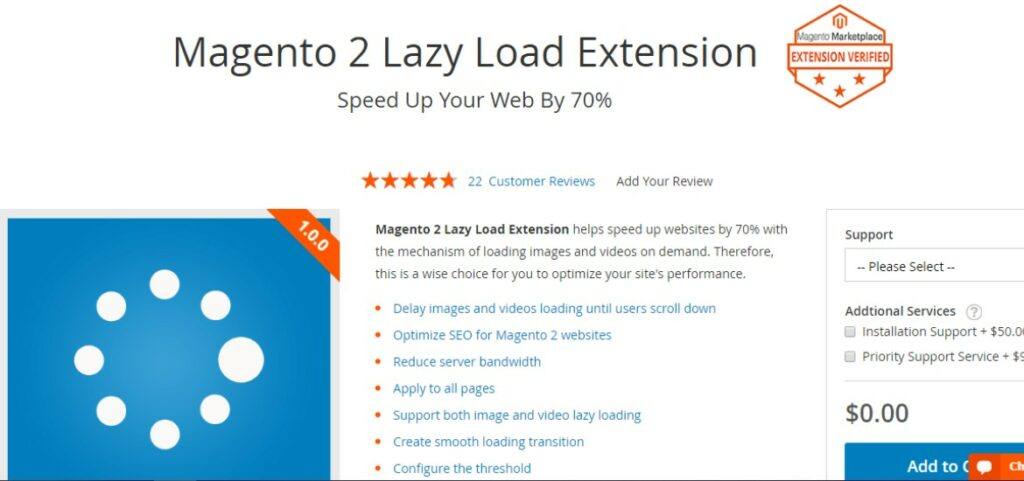 Magento 2 Lazy Load Extension |Magezon