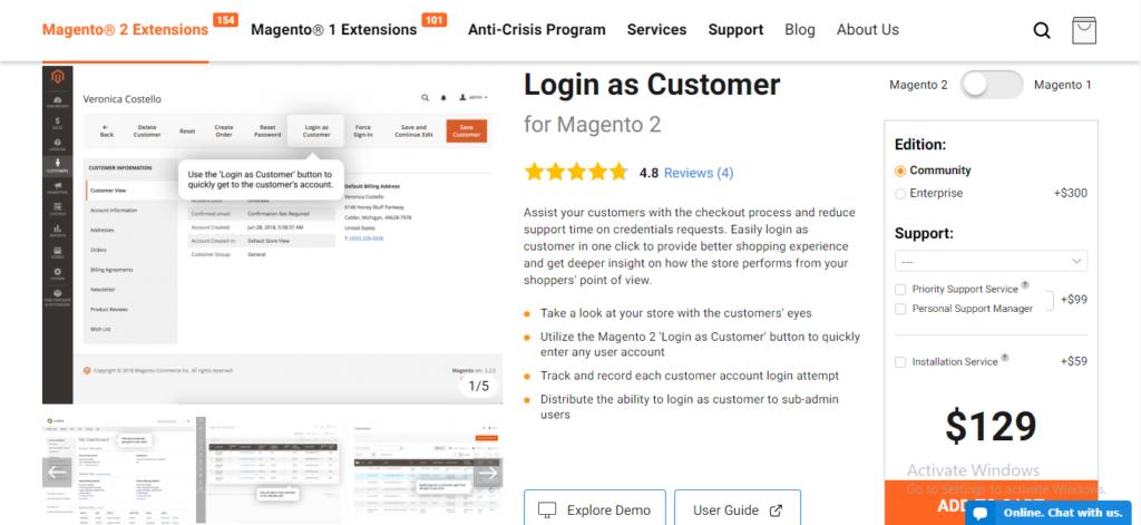 login-as-customer-m2-amasty