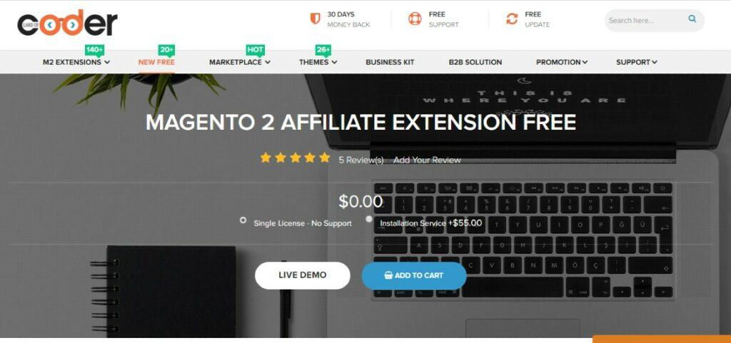 Magento 2 Affiliate Extension | Landofcoder