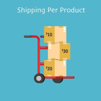 shipping per product by meetanshi