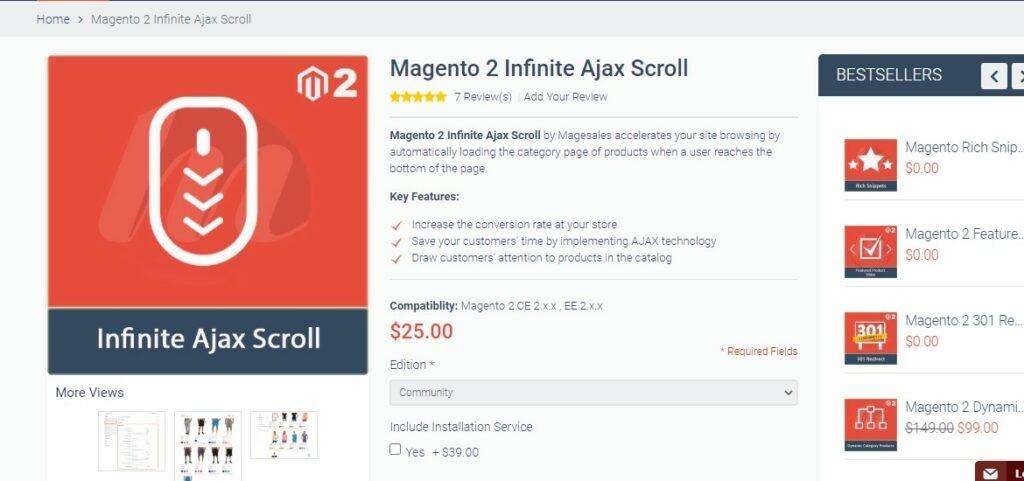 Magento 2 Infinite Ajax Scroll | Magesales