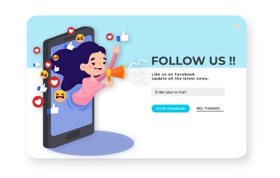 Social Sharing Form