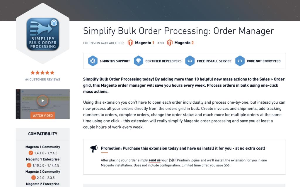 Simplify Bulk Order Processing Xtento