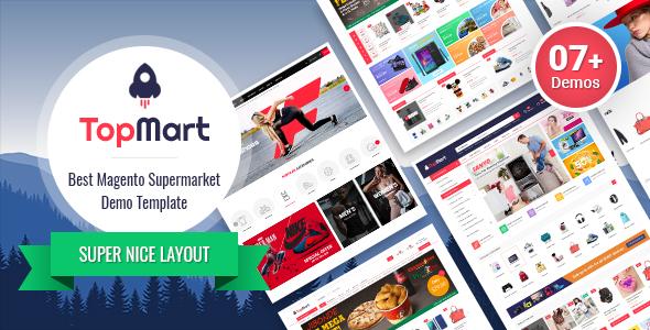 magento 2 theme sm top mart