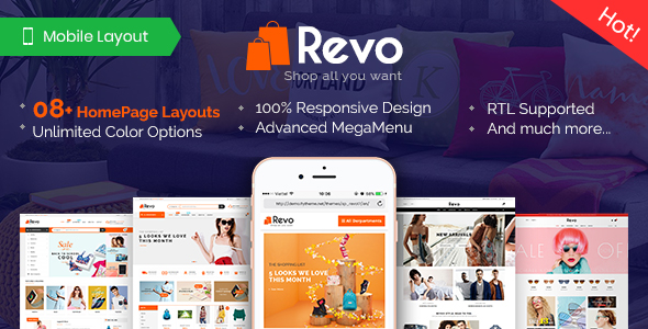 PrestaShop Theme Revo from Magentech