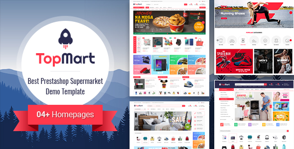Land and Magen cooperation PrestaShop Theme SP Topmart