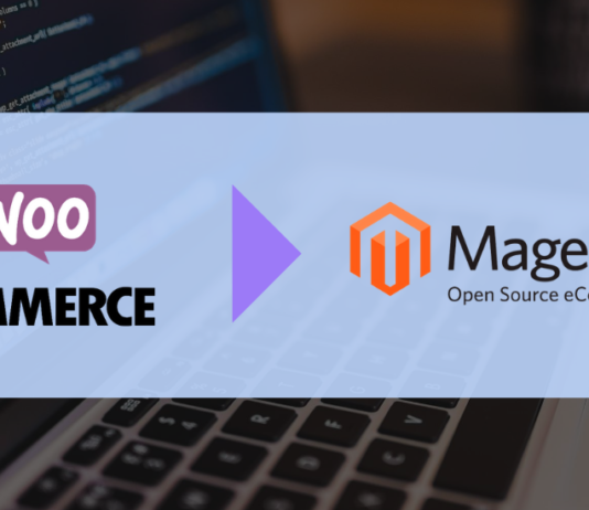 how to migrate from woocommerce to magento