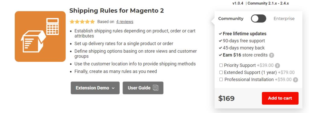 Aitoc Magento 2 Shipping Rule Extension
