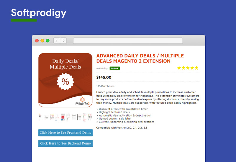 Multiple Deals Magento 2 Extension softprodigy