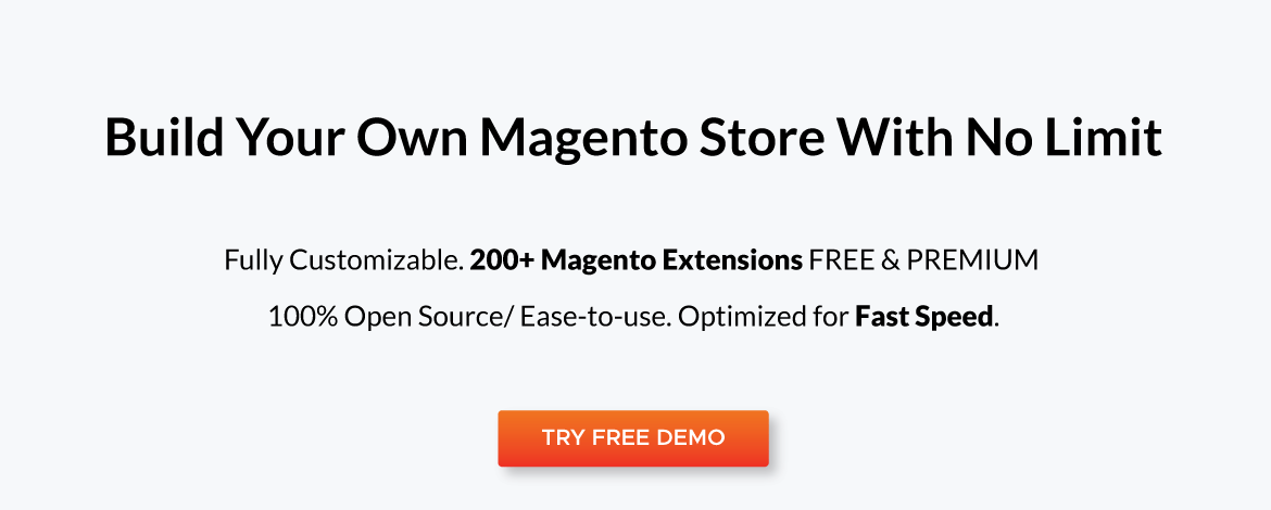 build your own magento store