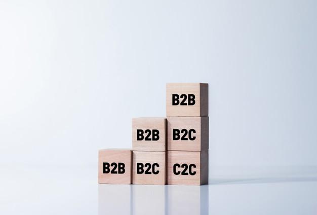 4 types of eCommerce B2B, B2C, C2C and C2B